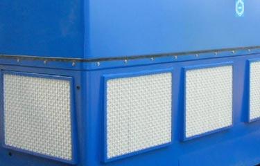 Paneles de ventana  para entrada de aire